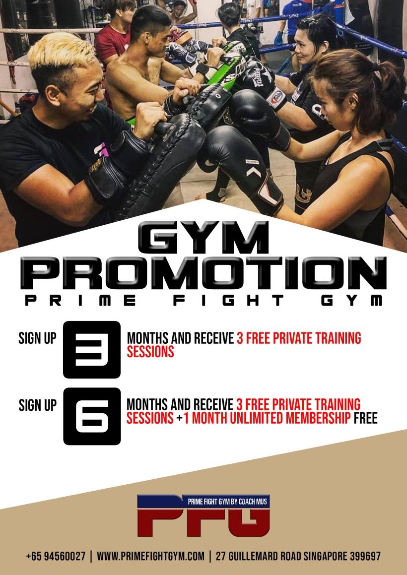 gym promo